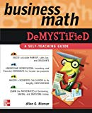 Book Cover Business Math Demystified