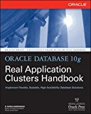 Book Cover Oracle Database 10g Real Application Clusters Handbook (Oracle Press)