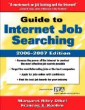 Book Cover Guide to Internet Job Searching 2006-2007