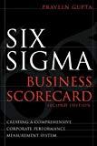 Book Cover Six Sigma Business Scorecard