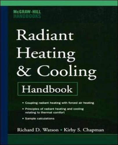 Book Cover Radiant Heating and Cooling Handbook