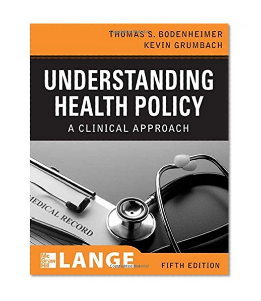 Book Cover Understanding Health Policy, Fifth Edition (LANGE Clinical Medicine)