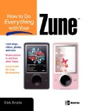 Book Cover How to Do Everything with Your Zune