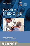 Book Cover Family Medicine: Ambulatory Care and Prevention, Fifth Edition (LANGE Clinical Medicine)