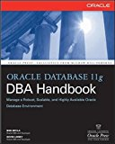 Book Cover Oracle Database 11g DBA Handbook (Oracle Press)