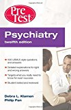 Book Cover Psychiatry PreTest Self-Assessment & Review, Twelfth Edition (PreTest Clinical Medicine)