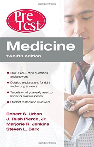 Book Cover Medicine PreTest Self-Assessment & Review, Twelfth Edition (PreTest Clinical Medicine)