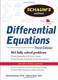 Book Cover Schaum's Outline of Differential Equations, 3ed (Schaum's Outline Series)