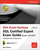 Book Cover OCA Oracle Database SQL Certified Expert Exam Guide (Exam 1Z0-047) (Oracle Press)