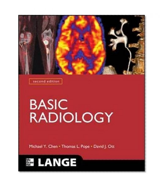 Book Cover Basic Radiology, Second Edition (LANGE Clinical Medicine)