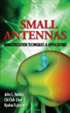 Book Cover Small Antennas:Miniaturization Techniques & Applications