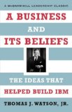 Book Cover A Business and Its Beliefs
