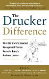 Book Cover The Drucker Difference: What the World's Greatest Management Thinker Means to Today's Business Leaders