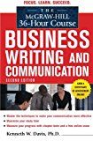 Book Cover The McGraw-Hill 36-Hour Course in Business Writing and Communication, Second Edition (McGraw-Hill 36-Hour Courses)