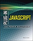 Book Cover Plug-In JavaScript 100 Power Solutions