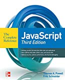 Book Cover JavaScript The Complete Reference 3rd Edition