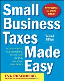 Book Cover Small Business Taxes Made Easy, Second Edition