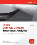 Book Cover Oracle CRM On Demand Embedded Analytics (Oracle Press)