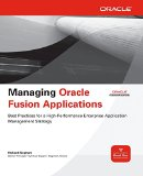 Book Cover Managing Oracle Fusion Applications (Oracle Press)