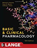 Book Cover Basic and Clinical Pharmacology 12/E (LANGE Basic Science)