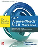 Book Cover SAP BusinessObjects BI 4.0 The Complete Reference 3/E
