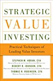 Book Cover Strategic Value Investing: Practical Techniques of Leading Value Investors