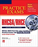 Book Cover RHCSA/RHCE Red Hat Linux Certification Practice Exams with Virtual Machines (Exams EX200 & EX300)