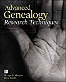 Book Cover Advanced Genealogy Research Techniques