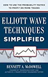 Book Cover Elliot Wave Techniques Simplified: How to Use the Probability Matrix to Profit on More Trades