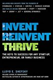 Book Cover Invent, Reinvent, Thrive: The Keys to Success for Any Start-Up, Entrepreneur, or Family Business