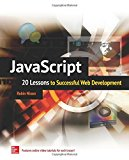 Book Cover JavaScript: 20 Lessons to Successful Web Development