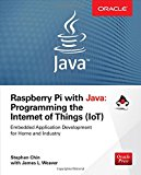 Book Cover Raspberry Pi with Java: Programming the Internet of Things (IoT)