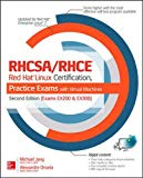 Book Cover RHCSA/RHCE Red Hat Linux Certification Practice Exams with Virtual Machines, Second Edition (Exams EX200 & EX300)