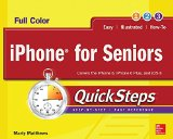 Book Cover iPhone for Seniors QuickSteps