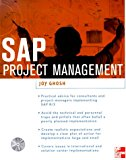 Book Cover SAP Consulting and Project Management (Book/CD-ROM package)