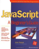 Book Cover JavaScript: A Beginner's Guide