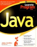 Book Cover Learn to Program with Java