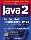 Book Cover Sun Certified Programmer for Java 2 Study Guide (Exam 310-025)
