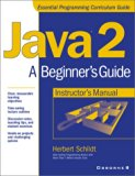 Book Cover Java 2: A Beginner's Guide Instructor's Manual