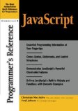 Book Cover JavaScript Programmer's Reference