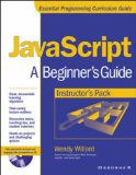 Book Cover Instructor's Manual: Im Javascript: Beginner's Guide