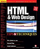 Book Cover HTML & Web Design Tips & Techniques