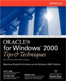 Book Cover Oracle9i for Windows(R) 2000 Tips & Techniques