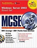 Book Cover MCSE Windows Server 2003 Boxed Set (Exams 70-290, 70-291, 70-2293, 70-294)