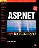 Book Cover ASP.NET Tips & Techniques