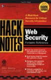 Book Cover HackNotes(tm) Web Security Pocket Reference