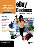 Book Cover How to Do Everything with Your eBay Business, Second Edition