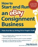 Book Cover How to Start and Run an eBay Consignment Business