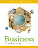 Book Cover Business: A Changing World, 3rd Edition