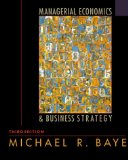 Book Cover Managerial Economics and Business Strategy